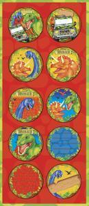 Dinosaur Labels by Maria Trad