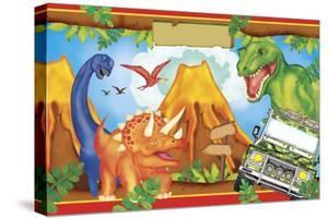 Dinosaur Party 3 by Maria Trad