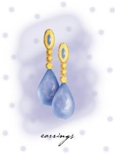 Earring by Maria Trad
