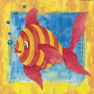 Fishes Colors 01 by Maria Trad
