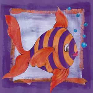 Fishes Colors 04 by Maria Trad