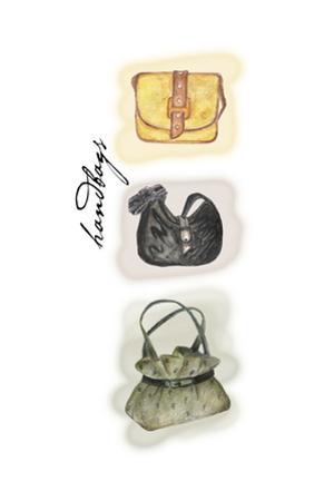 Handbags 1 by Maria Trad