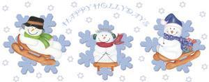 Happy Hollydays by Maria Trad