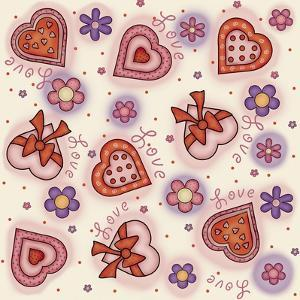 Hearts and Flowers 2 by Maria Trad