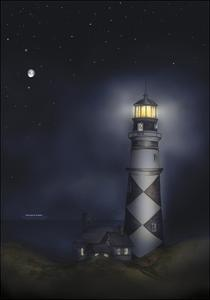 Lighthouse 01B by Maria Trad