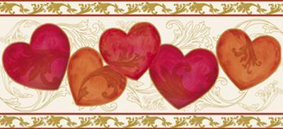 Love Divine Border by Maria Trad