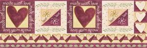 Made W Love Border by Maria Trad