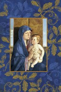 mary and jesus by Maria Trad