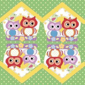Napkin Owl by Maria Trad