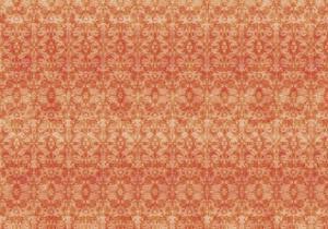 Orange Pattern by Maria Trad