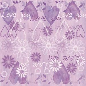 Pink Love You by Maria Trad