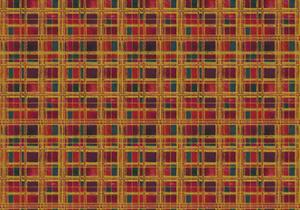 Plaid Design by Maria Trad