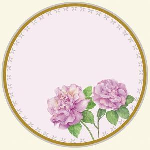 Round Roses B by Maria Trad