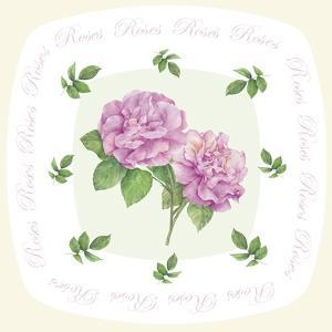Shape Roses B by Maria Trad