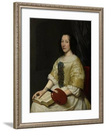 Maria Van Oosterwijck-Wallerant Vaillant-Framed Art Print
