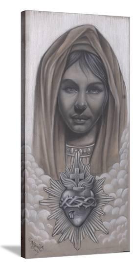Maria-Miguel Camarillo-Stretched Canvas Print
