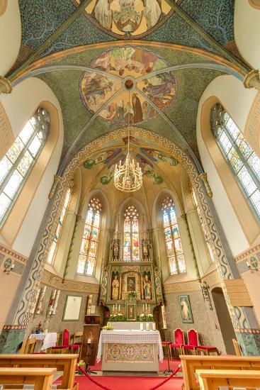 Mariahilf Church in Motz, Austria-Anibal Trejo-Photographic Print