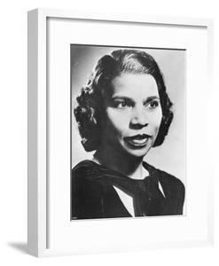 Marian Anderson (1899-199), American Contralto