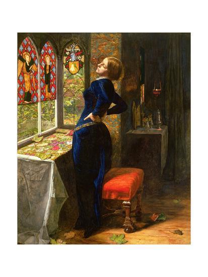 Mariana in the Moated Grange, 1851-John Everett Millais-Giclee Print