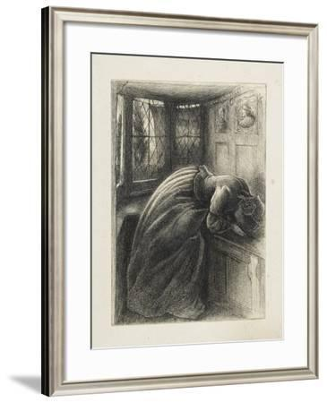 Mariana-John Everett Millais-Framed Giclee Print