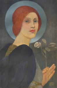 'An Angel', c1905 by Marianne Stokes