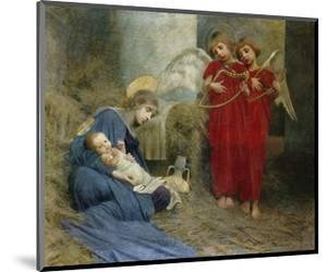Angels and Holy Child by Marianne Stokes