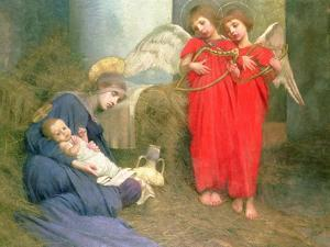 Angels Entertaining the Holy Child, 1893 by Marianne Stokes