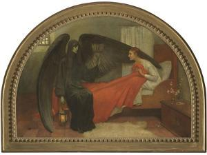 La jeune fille et la Mort (Schubert) by Marianne Stokes