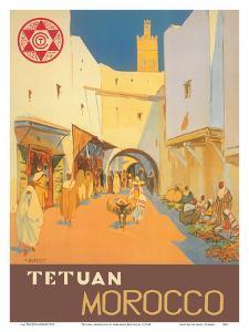 Tetuán, Morocco - City of the White Dove by Mariano Bertuchi