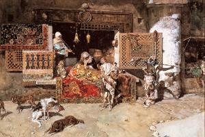 The Tapestry Merchant, 1870 by Mariano Fortuny y Marsal