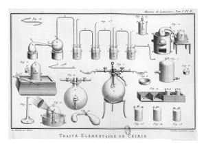 Experiment on the Decomposition of Water by Marie Anne Pierrette Lavoisier
