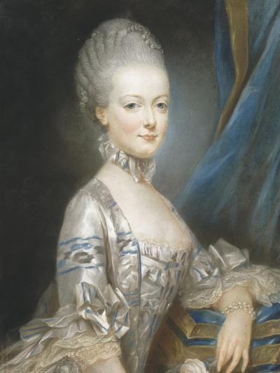 Marie-Antoinette de Lorraine-Habsbourg (1755-1793), alors archiduchesse d'Autriche en 1769-Joseph Ducreux-Giclee Print