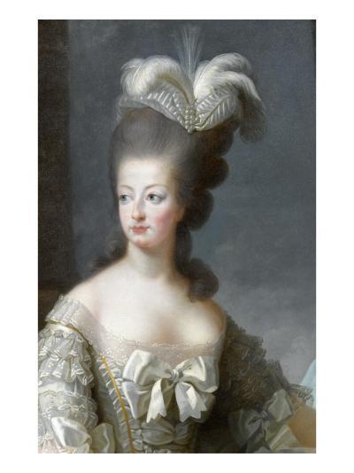 Marie-Antoinette de Lorraine-Habsbourg, archiduchesse d'Autriche, reine de France (1755-1795)-Brun Elisabeth Louise Vig?e-Le-Giclee Print