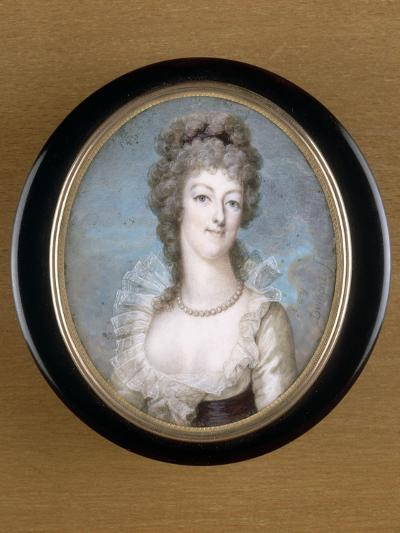Marie-Antoinette, reine de France représentée en 1792--Giclee Print