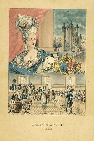 Marie Antoinette-French School-Giclee Print