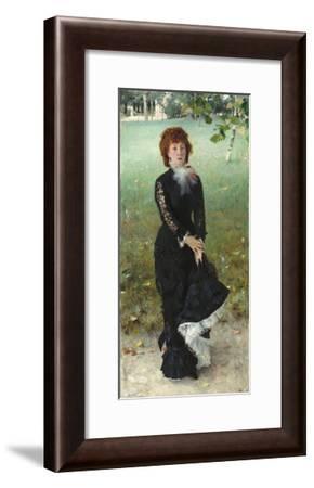 Marie Buloz Pailleron, 1879-John Singer Sargent-Framed Giclee Print