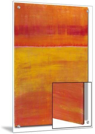 Warm Horizontal Abstract