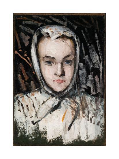 Marie Cézanne, the Artist's Sister, 1866-67-Paul C?zanne-Giclee Print