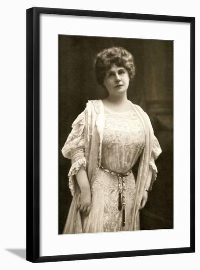 Marie Corelli, British Novelist, 1909- Gabell-Framed Photographic Print