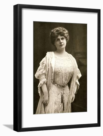 Marie Corelli, British Novelist, 1909- Gabell-Framed Photographic Print