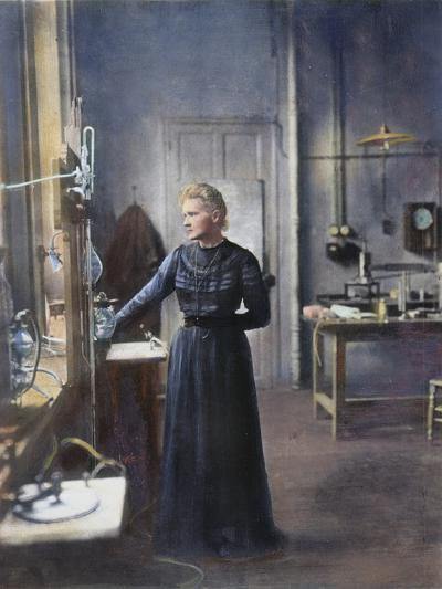 Marie Curie (1867-1934)--Photographic Print