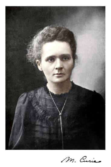 Marie Curie, Polish-Born French Physicist, 1917--Giclee Print