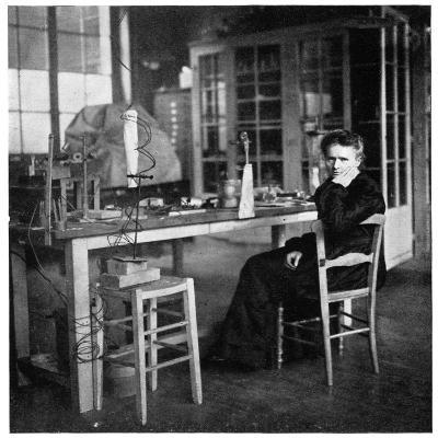 Marie Curie, Polish-Born French Physicist, C1920--Giclee Print