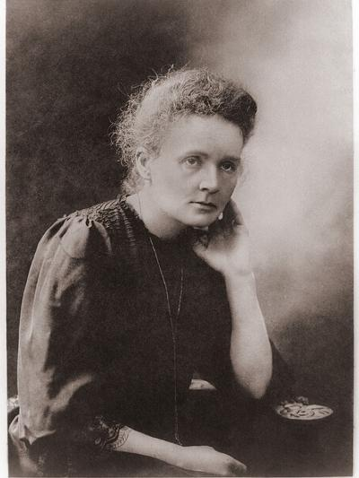 Marie Curie Polish-French Physicist Won Two Nobel Prizes, Ca. 1900--Photo