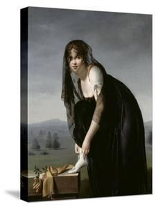 Etude de femme d'aprés nature, dit aussi : Portrait de madame Soustra by Marie Denise Villers