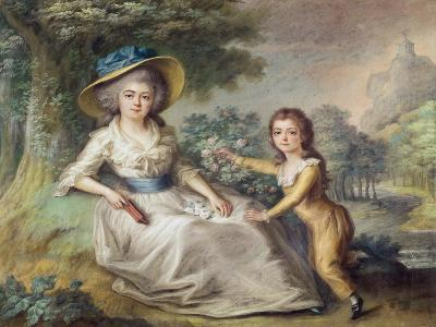 Marie Dupin De Francueil--Giclee Print