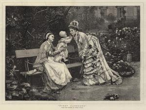 First Caresses by Marie Francois Firmin-Girard