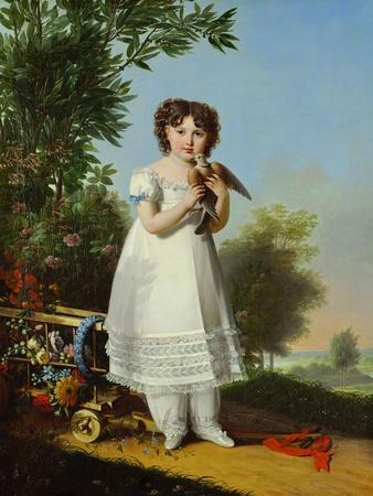 Napoleone Elisa Bacciochi,daughter of Elisa,sister of Napoleon I.