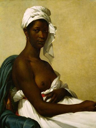 Portrait dune negresse, 1800