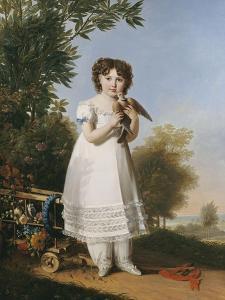 Napoléone-Elisa Baciocchi princesse de Piombino (fille d'Elisa Bonaparte et du prince Félix by Marie Guillermine Benoist